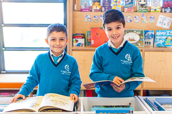 Our Lady of the Assumption Catholic Primary School Strathfield library
