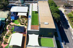 OLA North Strathfield Rooftop playgrounds